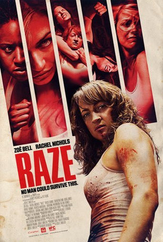 Raze Movie Poster 24Inx36In Poster 24x36 - Fame Collectibles