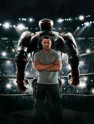 Real Steel Movie Poster 24inx36in (61cm x 91cm) - Fame Collectibles