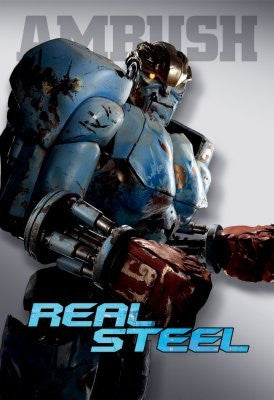Real Steel Movie Poster 24inx36in (61cm x 91cm) Ambush 24x36 - Fame Collectibles