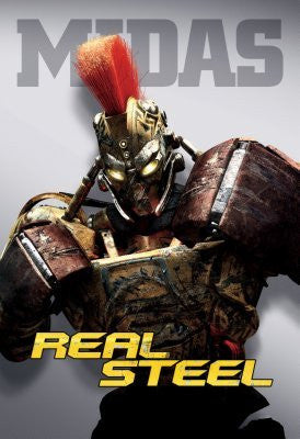 Real Steel Movie Poster 24inx36in (61cm x 91cm) Midas 24x36 - Fame Collectibles