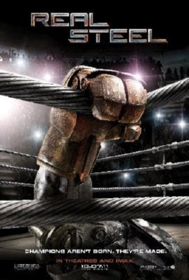 Real Steel Poster 24inx36in - Fame Collectibles