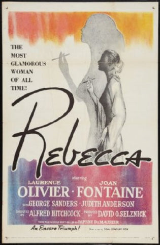 Rebecca Movie Poster 24inx36in (61cm x 91cm) - Fame Collectibles