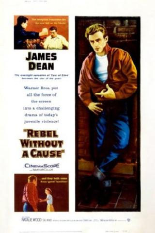 Rebel Without A Cause Movie Poster 24inx36in (61cm x 91cm) - Fame Collectibles