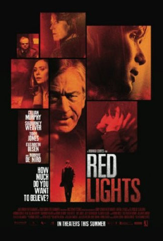 Red Lights Movie Poster 24inx36in (61cm x 91cm) - Fame Collectibles
