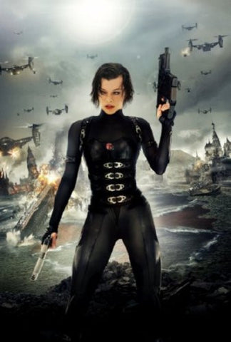 Resident Evil Retribution Movie Poster 24inx36in (61cm x 91cm) - Fame Collectibles