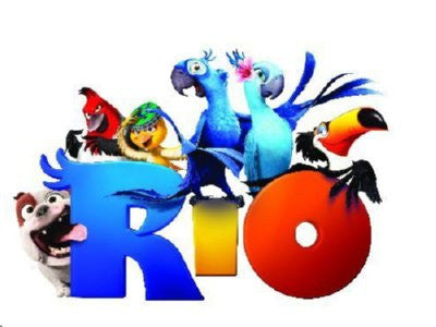 Rio Poster 24inx36in - Fame Collectibles