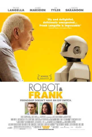 Robot And Frank Movie Poster 24inx36in (61cm x 91cm) - Fame Collectibles