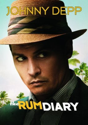 The Rum Diary Johnny Depp Movie Poster 24inx36in (61cm x 91cm) - Fame Collectibles