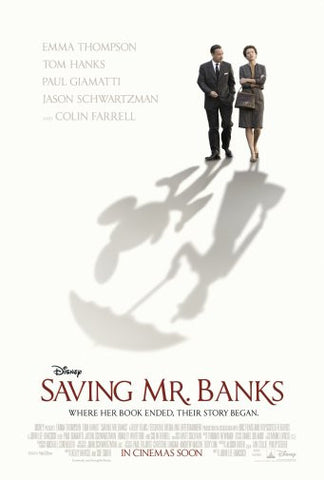 Saving Mr Banks Movie Poster 24inx36in Poster 24x36 - Fame Collectibles