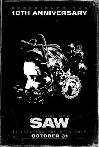 Saw Movie poster 24inx36in Poster 24x36 - Fame Collectibles
