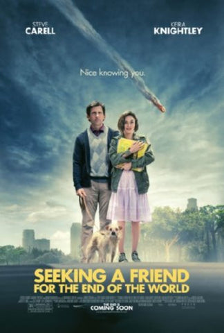 Seeking A Friend For The End Of The World Movie Poster 24inx36in - Fame Collectibles