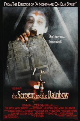 The Serpent And The Rainbow Movie Poster 24inx36in (61cm x 91cm) - Fame Collectibles