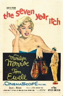 Seven Year Itch Poster 24inx36in - Fame Collectibles