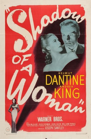 Shadow Of A Woman Movie Poster 24Inx36In Poster 24x36 - Fame Collectibles