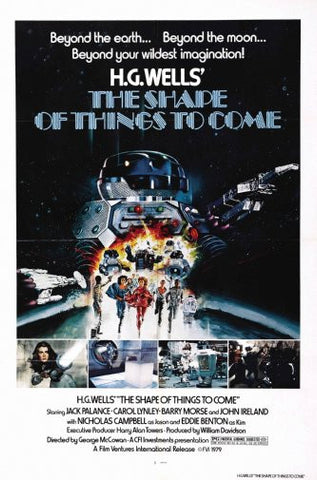Shape Of Things To Come Movie Poster 24inx36in Poster 24x36 - Fame Collectibles