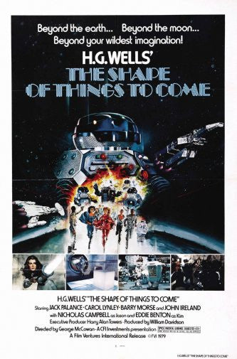 Shape Of Things To Come Movie Poster Puzzle Fun-Size 120 pcs - Fame Collectibles