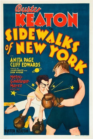 Sidewalks Of New York Movie Poster 24Inx36In Poster 24x36 - Fame Collectibles