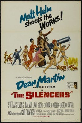 The Silencers Movie Poster 24inx36in (61cm x 91cm) - Fame Collectibles