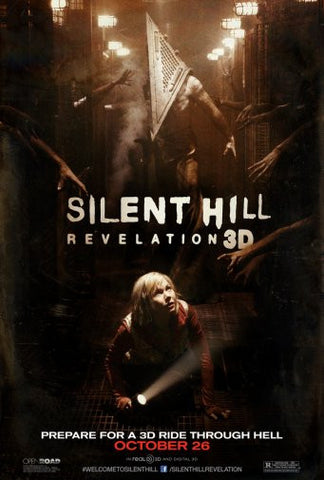Silent Hill Revelation Movie Poster 24inx36in Poster 24x36 - Fame Collectibles
