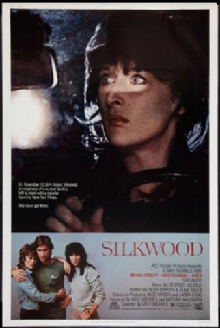 Silkwood Movie Poster 24inx36in (61cm x 91cm) - Fame Collectibles