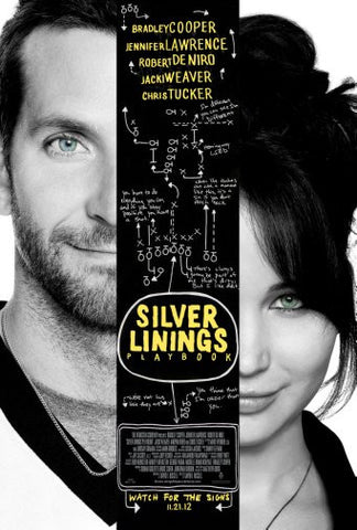 Silver Linings Playbook Movie Poster 24inx36in Poster 24x36 - Fame Collectibles