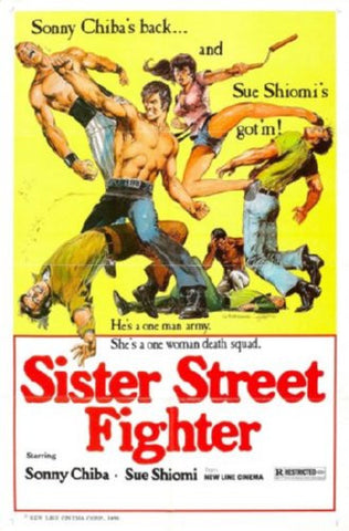 Sister Street Fighter Movie Poster 24inx36in (61cm x 91cm) - Fame Collectibles