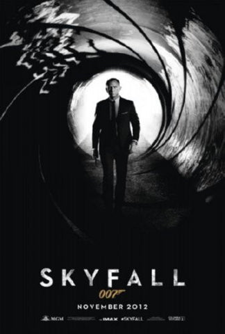 Skyfall Movie Poster 24inx36in (61cm x 91cm) - Fame Collectibles