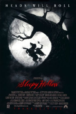 Sleepy Hollow Movie Poster 24inx36in (61cm x 91cm) - Fame Collectibles