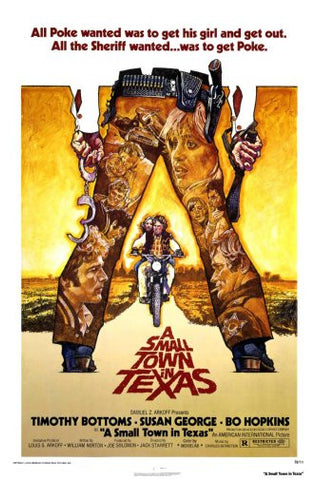 Small Town In Texas Movie Poster 24inx36in Poster 24x36 - Fame Collectibles