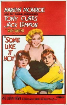 Some Like It Hot Poster 24inx36in - Fame Collectibles