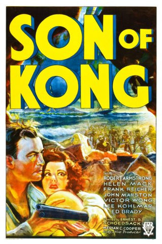 Son Of Kong Movie Poster 24inx36in Poster 24x36 - Fame Collectibles