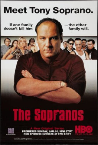 Sopranos Poster 24inx36in (61cm x 91cm) - Fame Collectibles