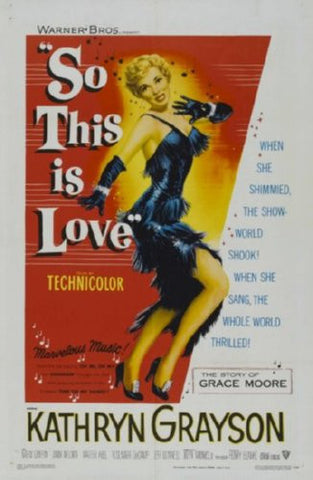 So This Is Love Movie Poster 24inx36in (61cm x 91cm) - Fame Collectibles
