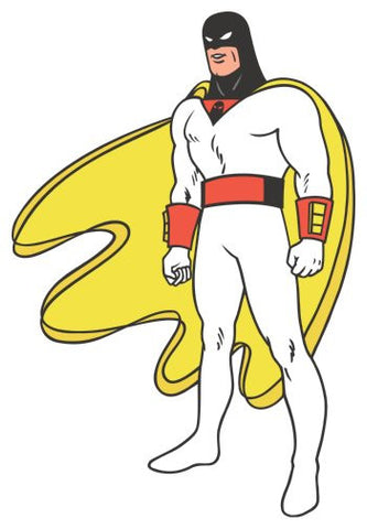 Space Ghost Poster 24inx36in Poster 24x36 - Fame Collectibles