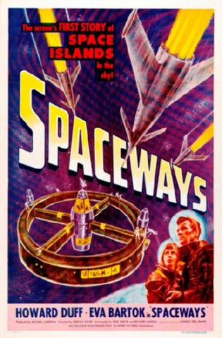 Spaceways Movie Poster 24inx36in (61cm x 91cm) - Fame Collectibles