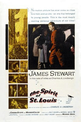 Spirit Of St. Louis Movie Poster 24inx36in (61cm x 91cm) - Fame Collectibles
