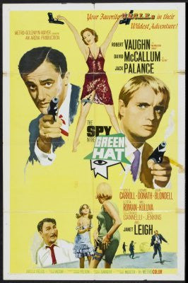 Spy In The Green Hat Movie Poster 24inx36in (61cm x 91cm) - Fame Collectibles