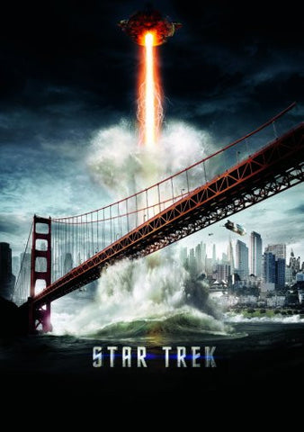 Star Trek Into Darkness Movie Poster 24inx36in Poster 24x36 - Fame Collectibles