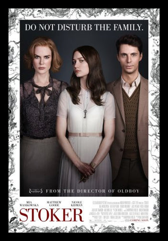Stoker Movie Poster 24inx36in Poster 24x36 - Fame Collectibles