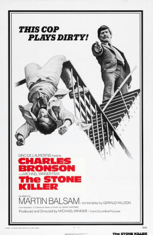 Stone Killer Movie poster 24inx36in Poster 24x36 - Fame Collectibles