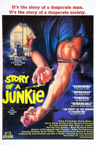 Story Of A Junkie Movie Poster 24inx36in Poster 24x36 - Fame Collectibles