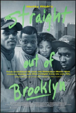 Straight Out Of Brooklyn Movie Poster 24inx36in (61cm x 91cm) - Fame Collectibles