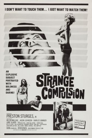 Strange Compulsion Movie poster 24inx36in Poster 24x36 - Fame Collectibles