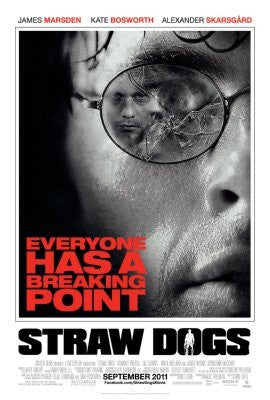 Straw Dogs Movie Poster 24inx36in (61cm x 91cm) - Fame Collectibles