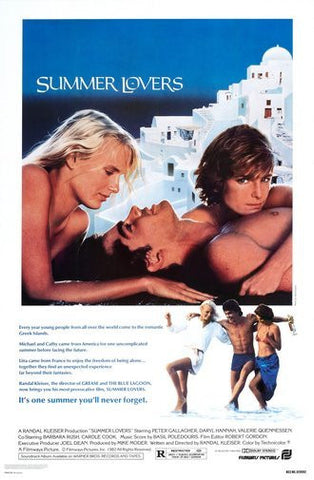 Summer Lovers Movie Poster 24Inx36In Poster 24x36 - Fame Collectibles