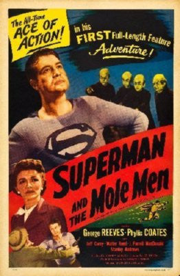 Superman Mole Men Poster 24inx36in - Fame Collectibles