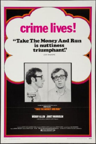 Take The Money And Run Movie Poster 24inx36in (61cm x 91cm) - Fame Collectibles