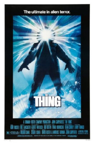 The Thing Movie Poster 24inx36in (61cm x 91cm) - Fame Collectibles