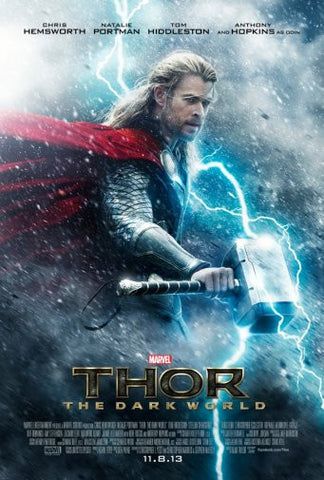Thor The Dark World Movie Poster 24inx36in Poster 24x36 - Fame Collectibles