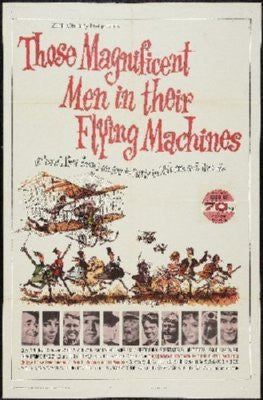 Those Magnificent Men Flying Machines Poster 24inx36in - Fame Collectibles